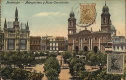 Metropolitana y Plaza Constitucion