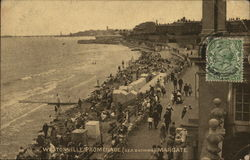 Westonville Promenade (Bathing Beach) Postcard
