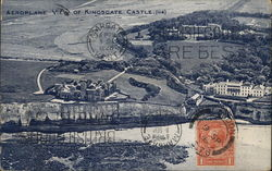 Aeroplane View of Kingsgate Castle Postcard