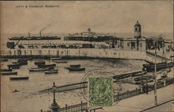 Jetty and Harbour Postcard