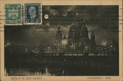 The Lustgarten at Night