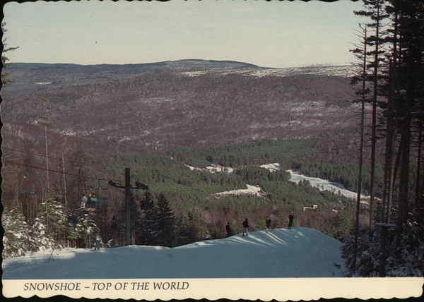 Snowshoe - The Top of the World West Virginia