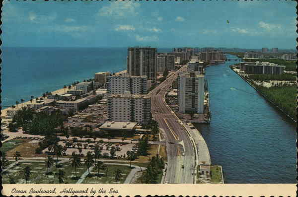 Ocean Boulevard Hollywood Florida
