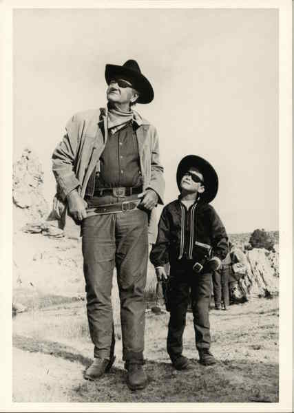 John Wayne & Son, True Grit, 1969 Actors
