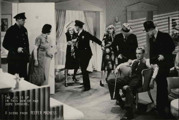 A scene from Reefer Madness Actors
