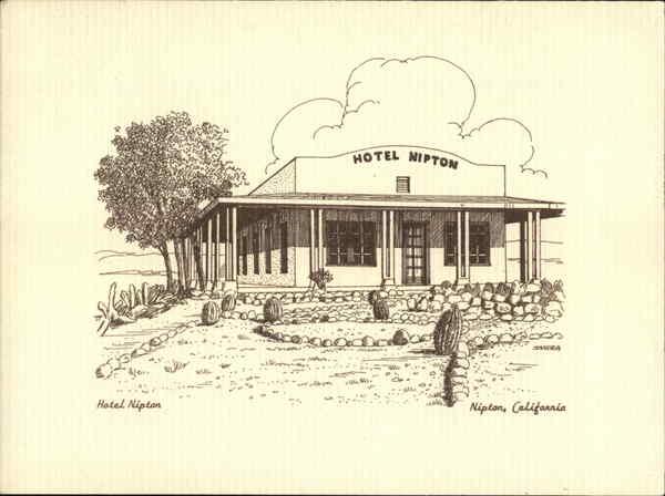 Hotel Nipton Postcard