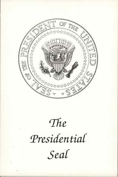 The Presidential Seal Washington District of Columbia