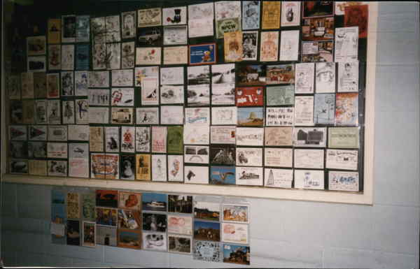 1989 National Postcard Week Post Card Clubs & Collecting