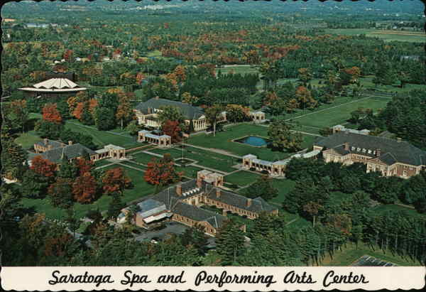 Saratoga Spa and Performing Arts Center Saratoga Springs New York