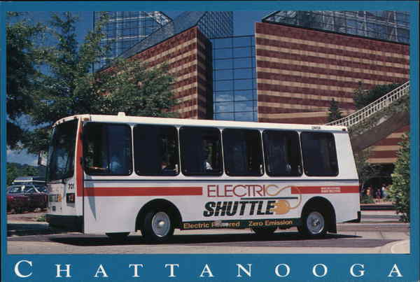 Electric Shuttle Chattanooga Tennessee