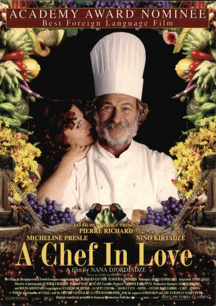 A Chef in Love Rack Cards