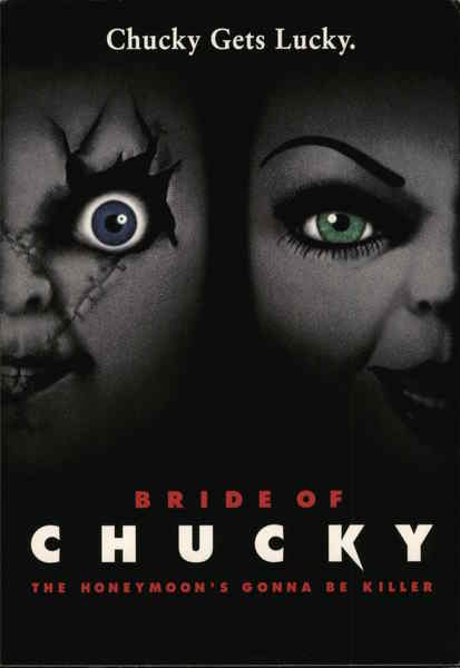 Bride of Chucky Rack Cards