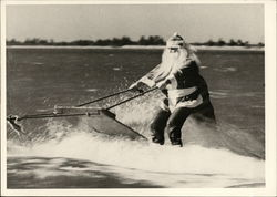 Santa Claus on Water Skies, 1950's