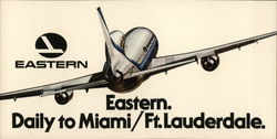 Eastern. Daily to Miami / Ft. Lauderdale