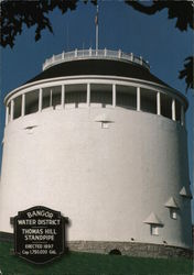 Bangor Water District Thomas Hill Standpipe, Erected 1897, Cap. 1,750,000 gal.
