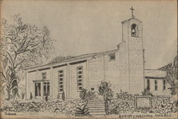 Drawing of Christ Episcopal Church