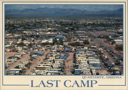Last Camp of Hi Jolly Postcard