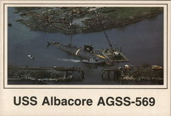 USS Albacore AGSS-569
