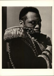 Paul Robeson as The Emperor Jones, New York, 1933