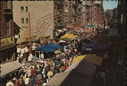 The Feast of San Gennaro, New York CIty