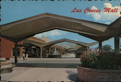Las Cruces Downtown Mall Postcard