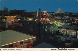 Great Northern Midway Postcard
