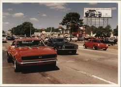 Woodward Dream Cruise Postcard
