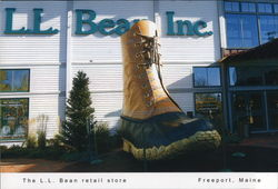The L.L. Bean Retail Store Postcard