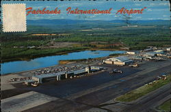 Fairbanks International Airport Postcard