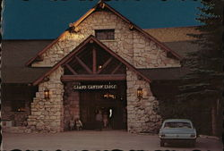 Grand Canyon Lodge Postcard