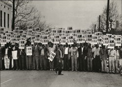 1968 I AM A MAN Sanitation Workers Strike