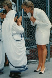 Princess Diana and Mother Teresa