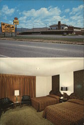El Monte Motor Lodge Postcard
