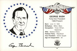 George Bush, Inauguration Day 1989