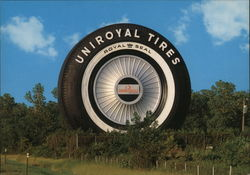 The Giant Uniroyal Tire