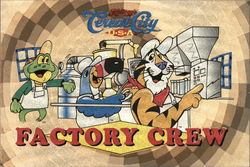 Kellogg's Cereal City Factory Crew