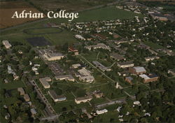 Adrian College Postcard
