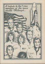 Space Shuttle Challenger Tribute
