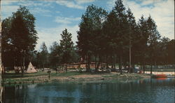 Pleasant Valley KOA Kampground Postcard