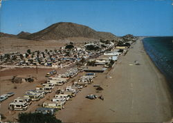Caverna del Seri and Kino Bay Trailer Parks Postcard