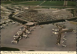 Chicago O'Hare International Airport Postcard