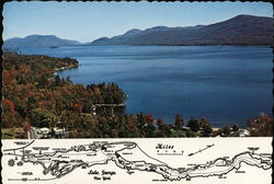 Lake George Postcard