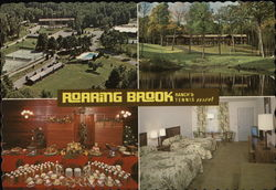 Roaring Brook Ranch's Tennis Resort Postcard