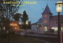 Gaslight Village Postcard
