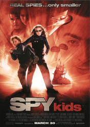 Spy Kids Movie Promo Card