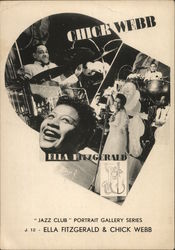 Ella Fitzgerald and Chick Webb