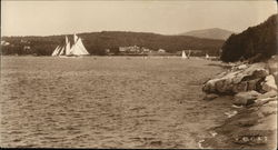 Seal Harbor, Maine Postcard