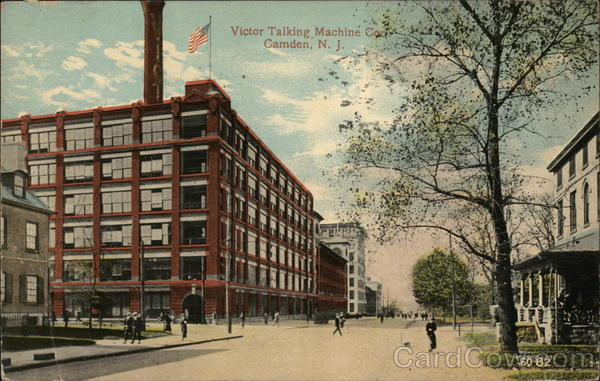 Victor Talking Machine Co. Camden New Jersey