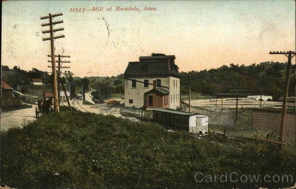 Mill Rockdale Iowa