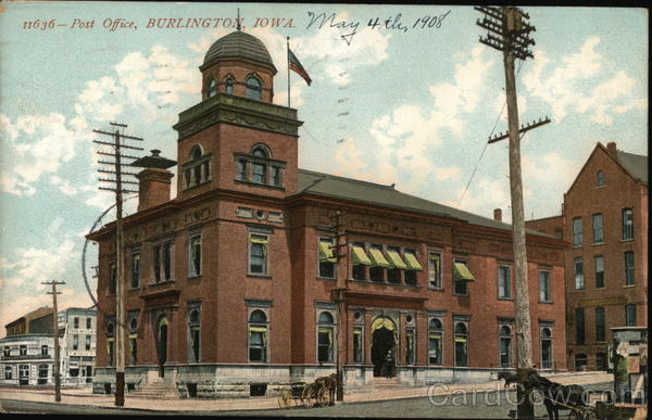 Post Office Burlington Iowa